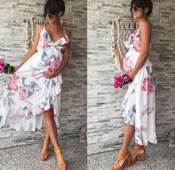 Floral Maternity Sundress, Summer/Spring Maternity Tunic
