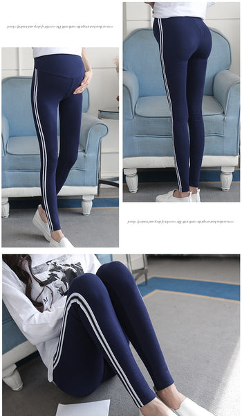 Skinny Maternity Leggings for Pregnant Women, Comfortable Pregnancy Tights