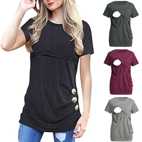maternity nursing breastfeeding top