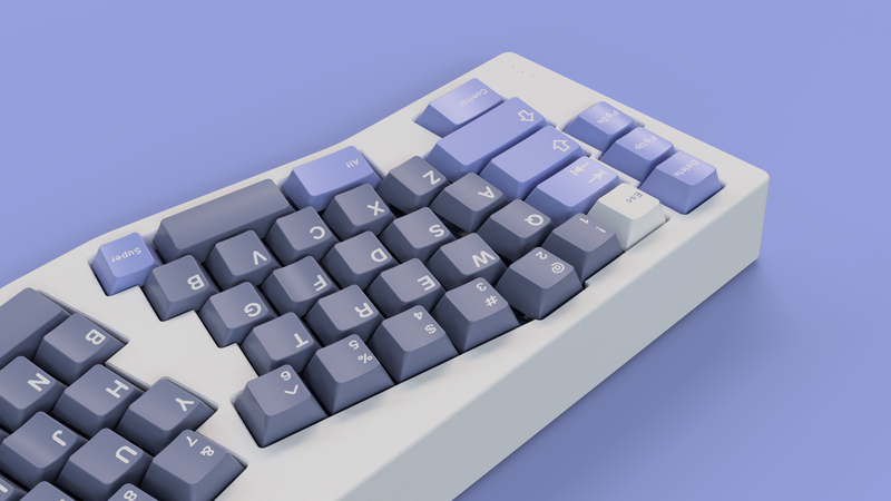 GMK Blurple Keycap Set
