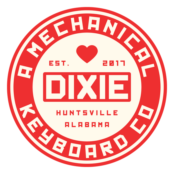 Dixie Circle Sticker