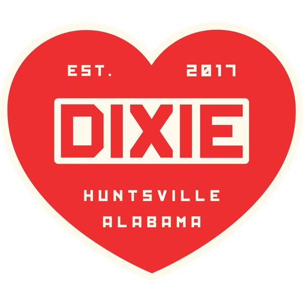 Heart of Dixie Sticker
