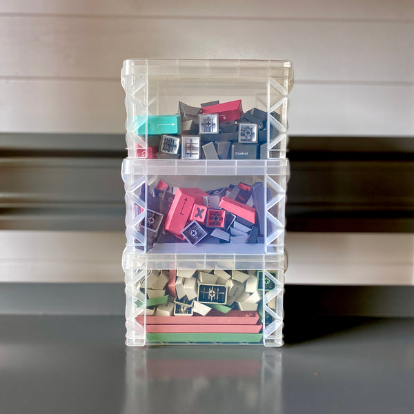 Keycap/Switch Storage Bins | 3 Pack