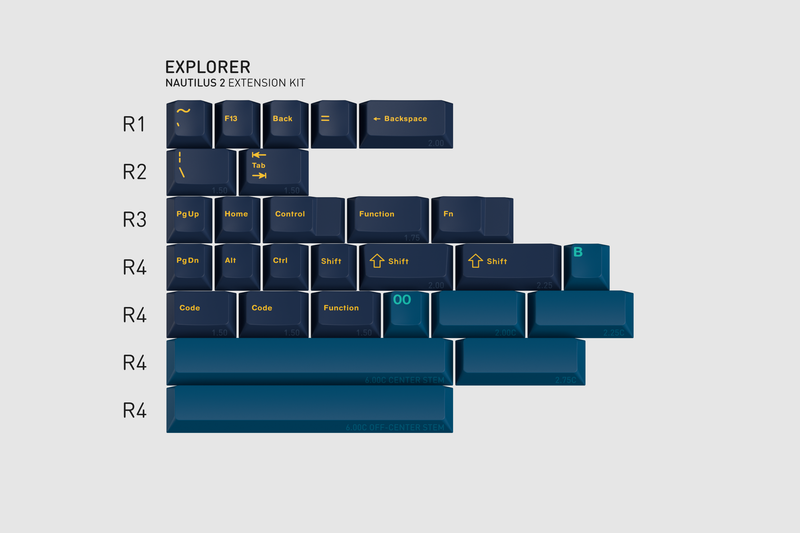 GMK Nautilus 2 Explorer Kit