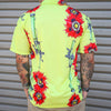 Print Brains Button Down Shirt Aloha SMAW