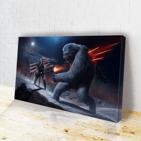 Chesty Puller Frozen Chosin' - Canvas