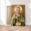 Print Brains Canvas Canvas / 12 x 18 St. Mattis The Patron Saint of Chaos - Canvas