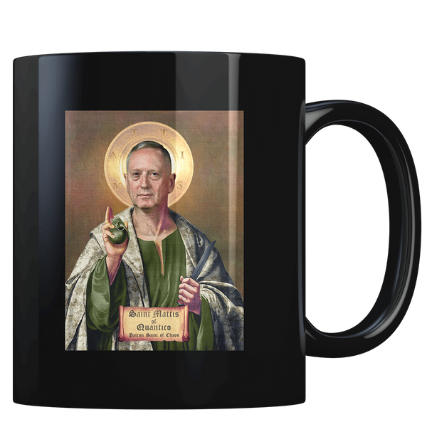 St. Mattis The Patron Saint of Chaos - Coffee Mug