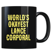 World's Okayest Lance Corporal - Coffee Mug