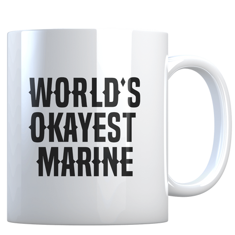 World's Okayest Marine - Coffee Mug