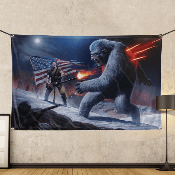 Chesty Puller Frozen Chosin' - Wall Flag