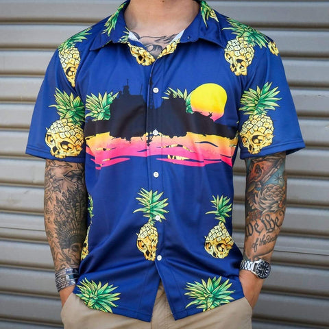 ALOHA T-Hawk Cruise Ship Shirt