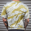 Print Brains T-shirt Desert Tiger Stripe Activewear