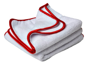 "BUFFING ""Scratchless"" White WONDER Towels (Set of 2)"