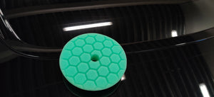 "135mm (5.5"") PRO-DETAIL GREEN Heavy Polishing Pad"