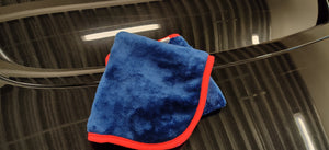 Dark Blue Microfiber Cloth