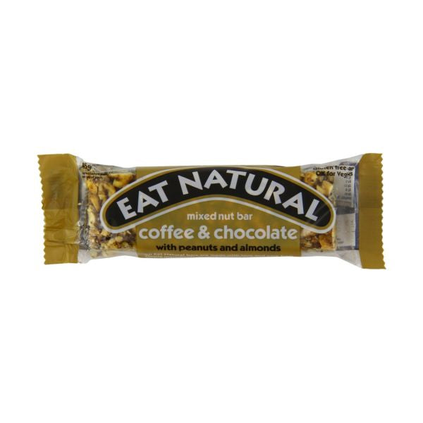 Eat Natural Coffee Chocolate Peanut & Almond Bar 45g x 12