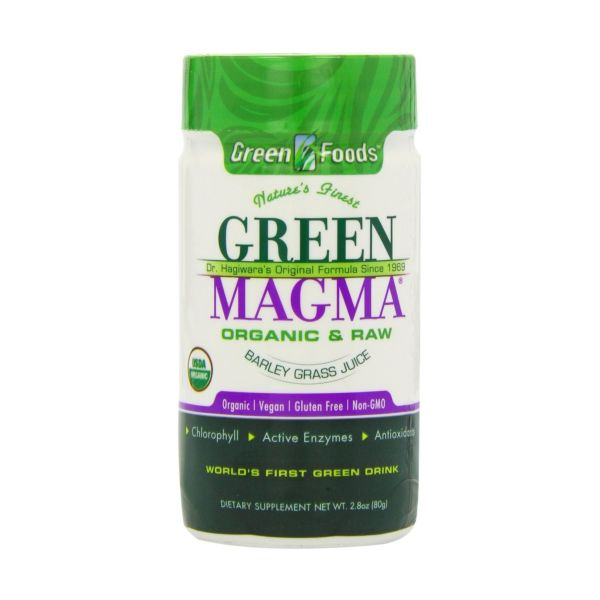 Rio Trading Green Magma Green Barley Grass Powder  Organic 80g