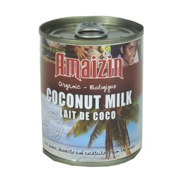 Amaizin Rich Organic Coconut Milk 200ml