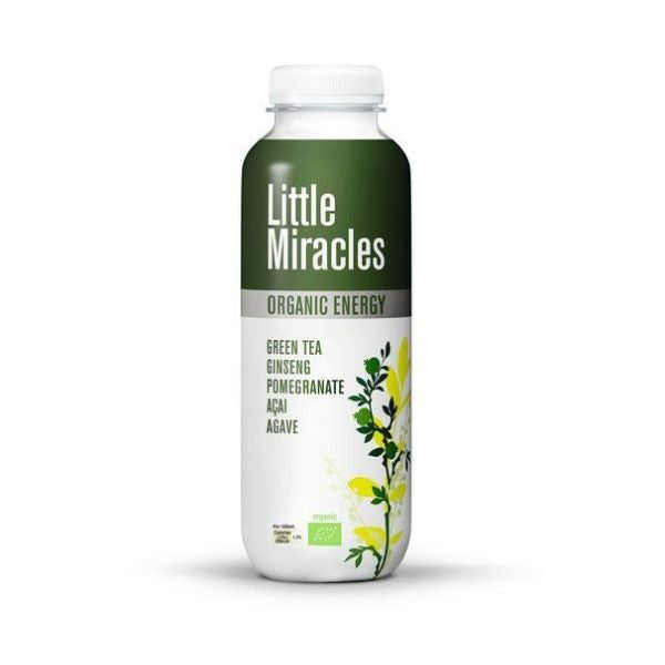 Little Miracles Green Tea Energy Drink  Organic 330ml