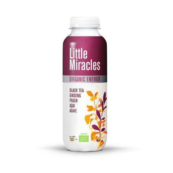 Little Miracles Black Tea Energy Drink  Organic 330ml