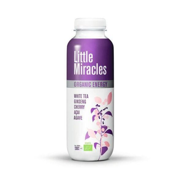 Little Miracles White Tea Energy Drink  Organic 330ml