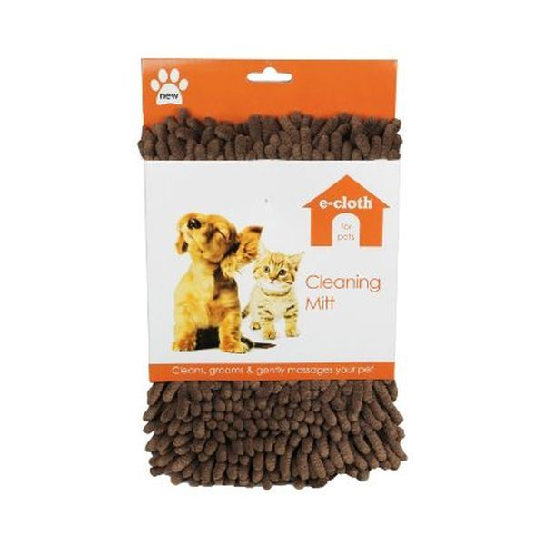 ECloth E Cloth Pet Cleaning Mitt Single