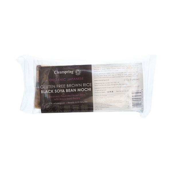 Clearspring Japanese Brown Rice Noodles With Black Soybeans 250g