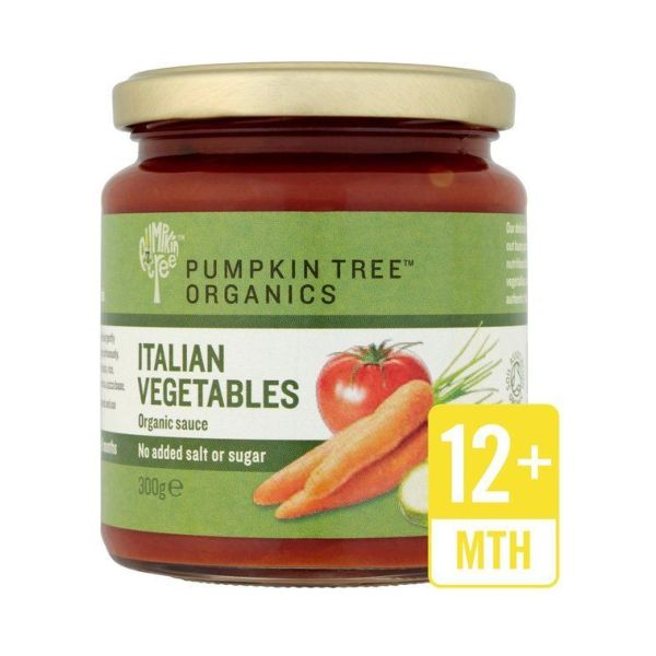 Pumpkin Tree Italian Vegetable Pasta Sauce 300g x 6