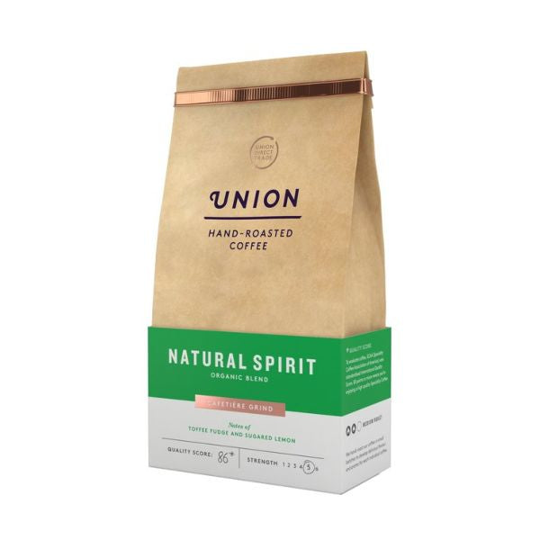 Union Coffee Natural Spirit Organic Blend Ground 200g