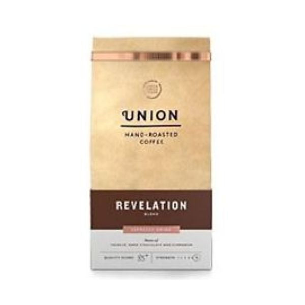 Union Coffee Revelation Pre Gound Espresso Grind 200g