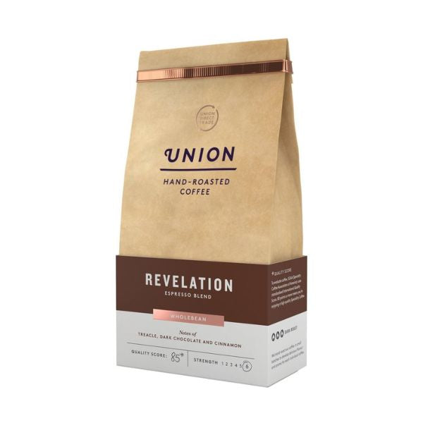Union Coffee Revelation Espresso Blend Whole Bean 200g