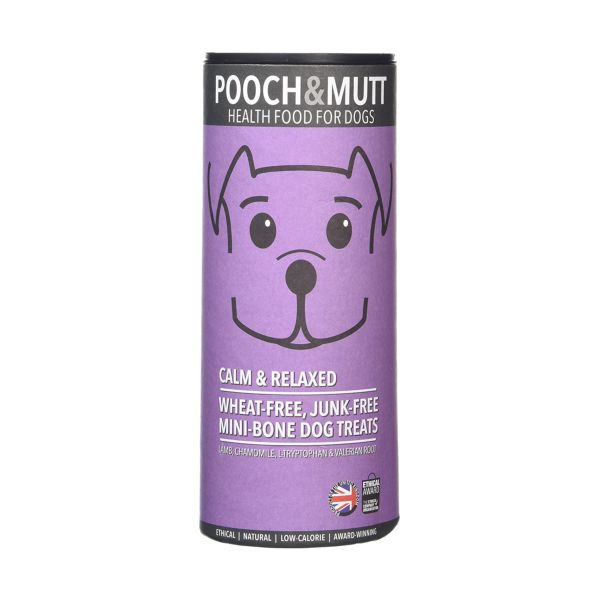 Pooch & Mutt Calm & Relaxed Hand Baked Dog Treats 125g