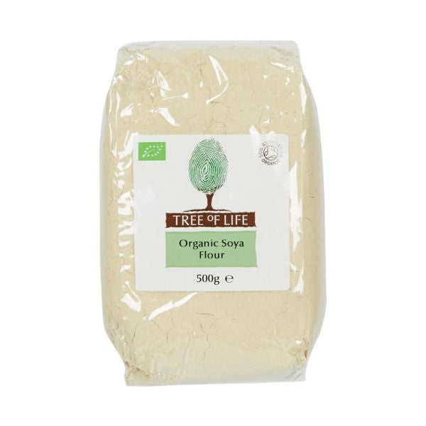 Tree Of Life Organic Soya Flour 500g x 6