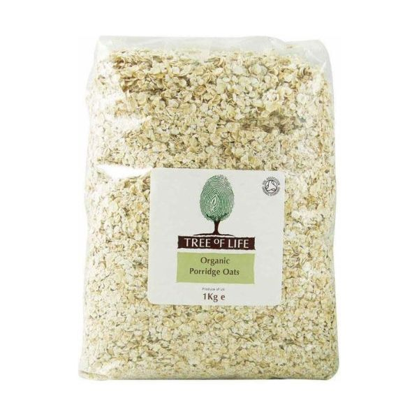 Tree Of Life Oats  Porridge Rolled 1kg x 6