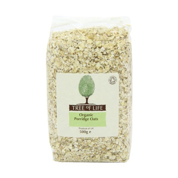 Tree Of Life Organic Oats  Porridge 500g x 6