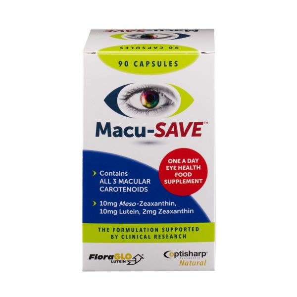 Macusave Eye Health Food Supplement Caps 90s