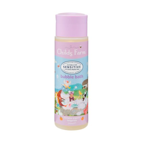 Childs Farm Organic Tangerine Bubble Bath 250ml x 6