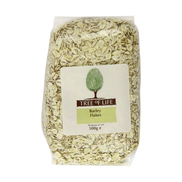 Tree Of Life Barley  Pearl Flakes 500g x 6