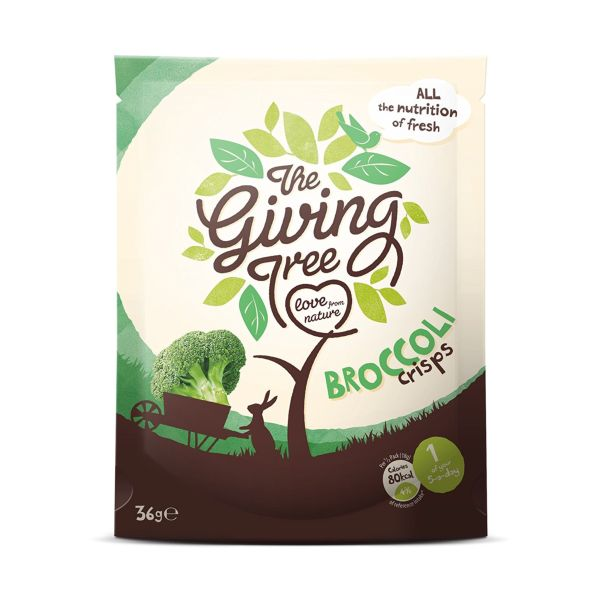 Giving Tree Vacuum Fried Broccoli Crisps 18g