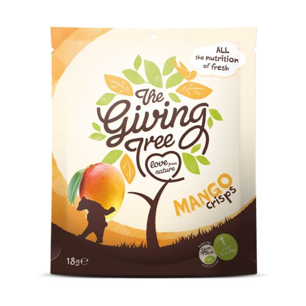 Giving Tree Freeze Dried Mango Crisps 18g