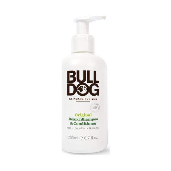 Bulldog Original 2In1 Beard Shampoo & Conditioner 200ml