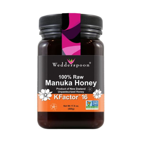 Wedderspoon Raw K Factor 16 Manuka Honey 500g
