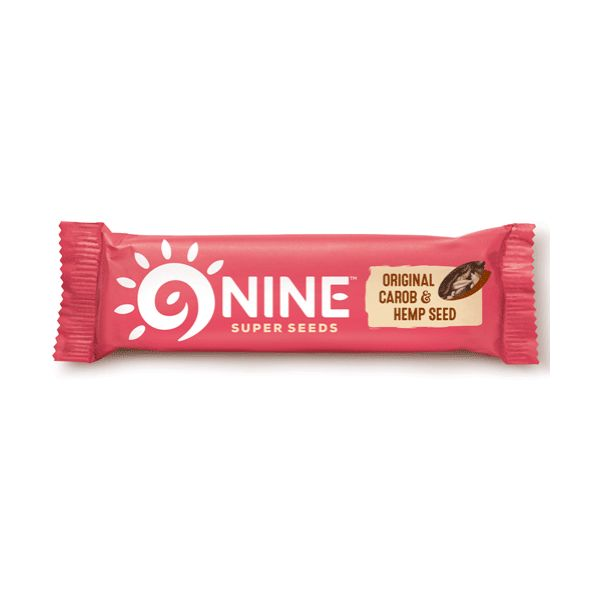9Nine Original Carob & Hemp Seed 40g x 20
