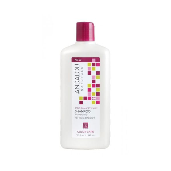 Andalou 1000 Roses Colour Care Shampoo 340ml