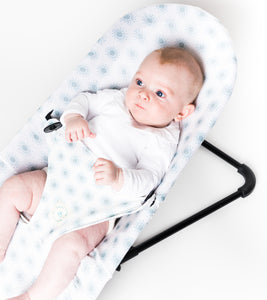 BabyBjorn Bouncer Cover - Sunny Drops Green