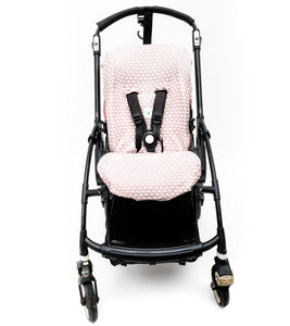 Bugaboo Bee Cover - Shiny Peacock Pink