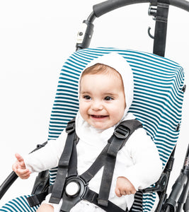 Bugaboo Bee Cover - Stripes Heaven Grey