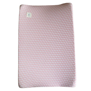 Changing Mat Cover - Shiny Peacock Pink
