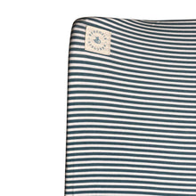 Load image into Gallery viewer, Changing Mat Cover - Stripes Heaven Dark Green